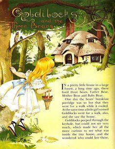 """Goldilocks"" by Janet and Anne Grahame-Johnstone"
