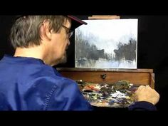 How to Paint with a Pallet Knife (Part 4) - YouTube