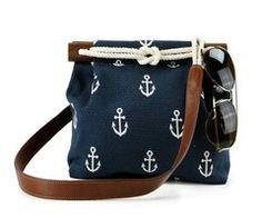 Anchor crossbody bag