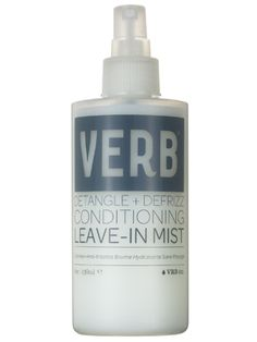 Verb Detangle   Defrizz Conditioning Leave-In Mist Review: Hair Care: allure.com