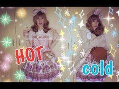 Lolita Fashion in EXTREME Weather - YouTube