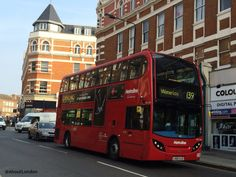 The no.139 London bus has a great route for sightseeing: from West Hamsptead Heath through central London to Waterloo.