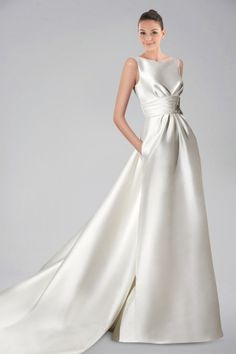 sublime-satin-batteau-neckline-wedding-gown-with-pockets-and-watteau-train