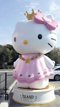 Hello kitty island in Jeju island