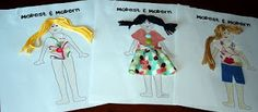 Modesty fashion activity for Activity Days.