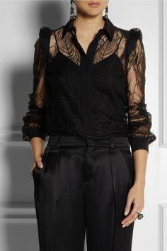 Gucci|Lace shirt |NET-A-PORTER.COM