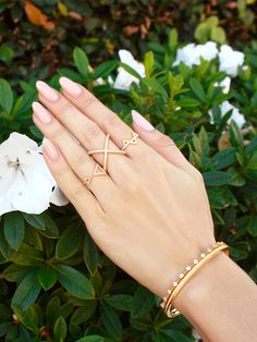 Spring is right around the corner! #nialaya #gold #jewelry
