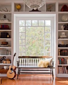 That Vintage Bench And Window Combo Still Makes My Heart Beat Just A Little  Bit Faster. Happy Friday, Friends. 📷 @bethanynauert For EHD
