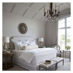 Absolutely loving the styling of this room! #bedroom #inspiration #love #fresh #light
