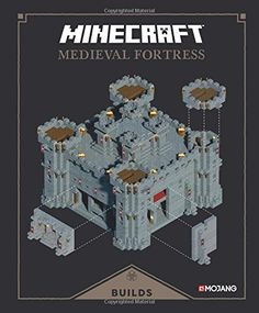 Minecraft: Exploded Builds: Medieval Fortress: An Official Minecraft Book from Mojang