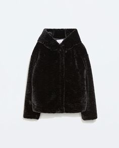 ZARA - TRF - JACKET WITH FUR HOOD 60eu