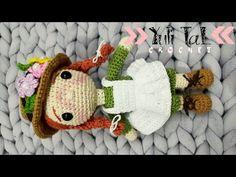 Kawaii Crochet, Cute Crochet, Crochet Baby, Knit Crochet, Crochet Doll Pattern, Crochet Blanket Patterns, Crochet Dolls, Patron Crochet, Barbie Dress