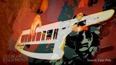 League of Legends - Zombie Slayer - Keytar Cover