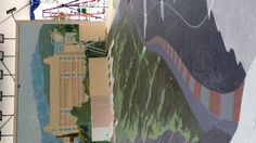 Tracy lee Stum mural Cadillac 3d