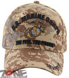 1cdf3fb5ca7 US Marine Corps USMC Semper Fi CAP Hat Camo