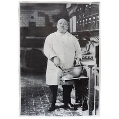 Eleven Poster Prints of the Iconic Chef Photo by August Sander, circa 1970