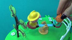 Peppa Pig in English. Peppa and her friends on a playground. Peppa is a ...