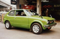 Vintage Civic - What us kids got to share, ugly chocola brown.