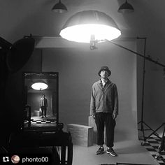 Behind the scenes by @phonto00 : #protfolio #phaseone #Portrait
