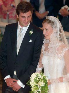MYROYALSHOLLYWOOD FASHİON:  Wedding of Prince Amedeo of Belgium, Archduke of Austria Este, and Miss Elisabetta (Lili) Maria Rosboch von Wolkenstein, Rome, July 5, 2014-The Bride and Groom