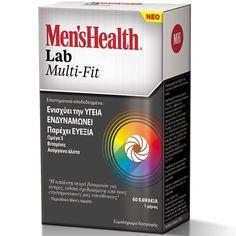 Men's Health Lab Multi Fit Πολυβιταμινούχο Σκεύασμα για Άνδρες που Παρέχει  Υγεία, Ενδυνάμωση, Ευεξία 60Caps. Μάθετε περισσότερα ΕΔΩ: https://www.pharm24.gr/index.php?main_page=product_info&products_id=12721