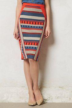 red, white, + blue stripe skirt from Anthropologie | Skirt the Ceiling | skirttheceiling.com