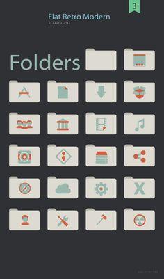 Free Flat Folder Game Gui, Behance, Flat Icons, Flats, Retro, Free, Loafers & Slip Ons, Flat Shoes, Ballet Flats