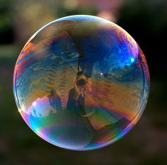 "This is a shot from my new project called   ""Soap Bubbles Project"""