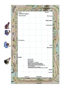Nitinat River - from Track Plan Database | ModelRailroader.com