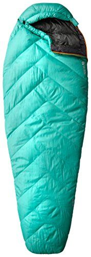 Mountain Hardwear Heratio 32 Sleeping Bag  Womens Atlantis Regular  Right Zip * Read more info by clicking the link on the image. #SleepingBagsandCampBedding