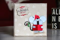 Stampin Up UK Demonstrator Zoe Tant blog: Christmas Card Club - Carol Singers Punch Art Fun