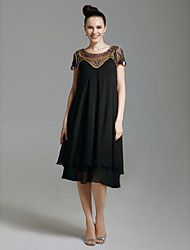 CONCHITA - Vestido de Cóctel de Gasa – USD $ 74.99