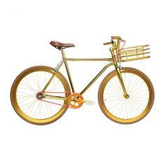 Martone Cycling Co. - Men's Grand Bike - Gold