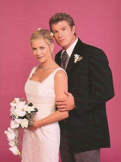 Winsor Harmon as Thorne and Katherine Kelly Lang as Brooke on The Bold and The Beautiful