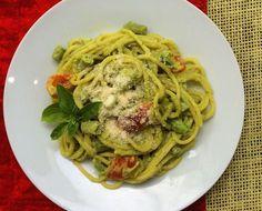 Fácil, rápida y deliciosa: Pasta en salsa de aguacate: Espaguetis con salsa de aguacate