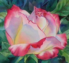 Barbara Fox, watercolor painter