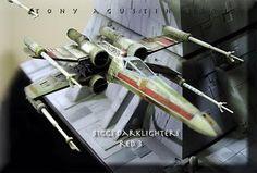 SCIFI WARGAMERS: Showcase: Unbelievable Star Wars Death Star Turret Diorama.