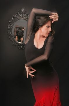 """""""From the exquisite beauty of her arms to the mastery and sensitivity of her movement, María Pagés captivates us with the powerful imagery of her dance. Flamenco Costume, Flamenco Dancers, Costume Dress, Dance Images, Dance Pictures, Lets Dance, Photo Galleries, How To Draw Hands, Bodycon Dress"""