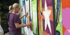 Graffiti-Workshop in Kamen Raum Dortmund in NRW #Kunst #Kultur #Schrift