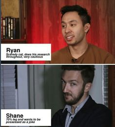 Buzzfeed Unsolved Ryan Bergara and Shane Madej #shaniac #boogara Truuuu