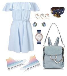 Keep it Simple by melaluuh on Polyvore featuring polyvore, мода, style, Miss Selfridge, Converse, Chloé, Alexander McQueen, Emporio Armani, fashion and clothing