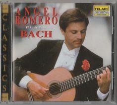 #Angel #Romero #Plays #Bach #CD, Jun-1993, #Telarc #Distribution) #Classical  #Suite #Concerto #Sacred #Music #Cantata #Partita #Sonata #toeslam #gift #ebay