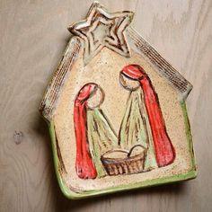 Rustic Christmas Nativity Ideas for Home Decor Christmas Clay, Christmas Ornament Crafts, Clay Ornaments, Christmas Nativity, Rustic Christmas, Holiday Ornaments, Holiday Crafts, Nativity Ornaments, Xmas