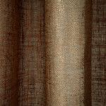 Linen Sheer Metallic Drapery Fabric in #Copper can be used as drapes, curtains, canopy, or wall covering (if backed). This 100% Belgian linen sheer has a metallic sheen that provides a great pop of shine.