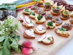 appetizers from CENA is a boutique Brooklyn-based catering company providing farm to table cuisine.