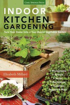 Growing Vegetables Indoors, Growing Microgreens, Herbs Indoors, Growing Herbs, Growing Sprouts, Indoor Vegetable Gardening, Organic Gardening, Container Gardening, Gardening Tips