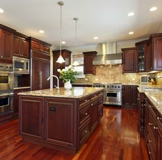 124 custom luxury kitchen designs part 1 - Inside Luxury Kitchens