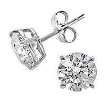 Diamond Earring Settings Studs Google Search