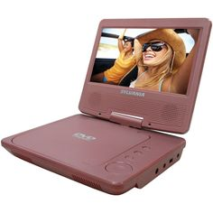 SYLVANIA SDVD7014 PINK 7 Portable DVD Players (Pink)