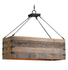 pallet wood light